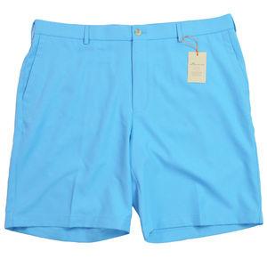 NEW Peter Millar Mens Shorts 38 Light Blue Crown